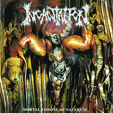 INCANTATION MORTAL THRONE OF NAZARENE CD NEW