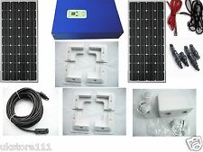 300W 12V  Monocrystalline Solar Panel 20A MPPT Charge Controller battery charger