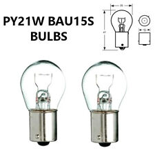 PY21W BAU15s 581 CLEAR Indicator/Stop Brake/Reversing/Tail Car Light Bulbs 12V