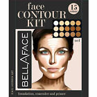 15 Colors Concealer Palette kit with Brush Face Makeup Contour Cream, Palette #2
