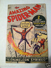 AMAZING SPIDER-MAN 1 ORIGIN RETOLD 1ST J.J. AND CHAMELEON FANTASTIC FOUR X-OVER