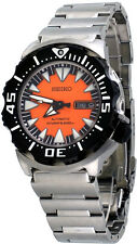 Seiko SRP315 SRP315K2 Men's S/S Orange Monster 200M Automatic Diver Watch