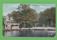 Vintage postcard. Lister Park, Bradford, Yorkshire.