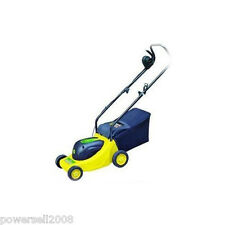 Italy 1000W Within 600 Square Meters Yellow Electric Lawn Mower