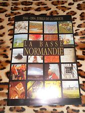 2 brochures JUBILE DE LA LIBERTE, 1944-1994, Conseil Régional de Basse-Normandie
