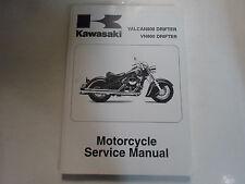 2005 2006 Kawasaki Vulcan800 Drifter VN800 Drifter Service Shop Manual Brand NEW