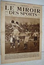 MIROIR SPORTS 1925 N°254 FOOTBALL FRANCE-AUTRICHE RIGOULOT RUGBY USAP NATATION