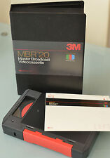(PRL) MBR20 MBR 20 MASTER BROADCAST VIDEOCASSETTE 3M COLOR PLUS VIDEO TV TELEV.