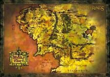 """Lord Of The Rings Map Of Middle Earth Art Poster  36"""" x 24"""""""