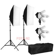 Profi 1900W Fotostudio Set Softbox Studioleuchte Studiolampe mit Tasche ※