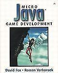 Micro Java¿ Game Development Fox, David, Verhovsek, Roman Paperback