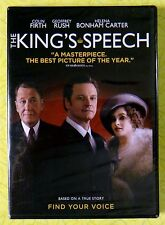 The King's Speech ~ DVD Movie ~ New Sealed ~ Colin Firth Geoffrey Rush