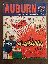 """1969 Alabama vs Auburn Football Program/FAMOUS """"PHIL NEEL"""" """"High Tide""""Cover!!!"""