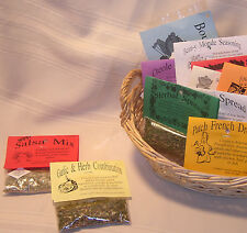 Gourmet Herb Mix seasoning packet~set of 5~organic~ BEST SELLERS gluten free