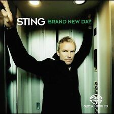 REDUCED!! 15% Brand New Day by Sting (SACD-RARE HYBRID DISC)