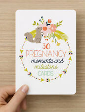ON SALE - Pregnancy Moments and Milestones Cards - 30 Pack. Brand New and Sealed