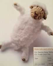 Fleecy Sheep  Easy Knit Pattern