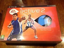 EA Sports Active 2 Personal Trainer - Sony PS3 Monitor Strap USB Game VGC