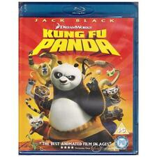 BLU-RAY KUNG FU PANDA Jack Black Angelina Jolie Animated Comedy PG REGION B [BNS