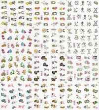 12 Design Cartoon Decals Water Transfer Nail Sticker SetNail Art NS166