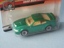 Matchbox Ford Mustang 1999 with Green Body in BP
