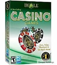 HOYLE CASINO GAMES + HOYLE SLOTS (2 PC Games) Win 7 / VISTA / XP * BRAND NEW