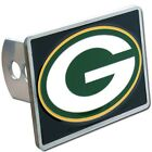 Green Bay Packers Rectangle Logo Trailer Hitch Cover ~ New