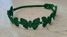 Authentic Cruciani Butterfly bracelet - Green Flag