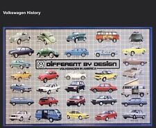 VW- Volkswagen -Different by Design,VW in America Extremely Rare! Car Poster