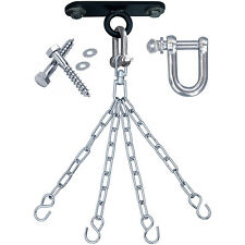 RDX Punch Bag Ceiling Hook with Chains Swivel Steel Wall Bracket Boxing Mount 4S
