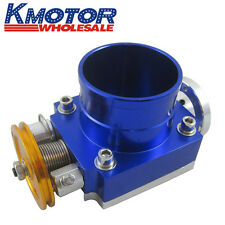 70mm High Flow Throttle Body for honda k-series/K20/Civic/EP3/Integra DC5 Blue
