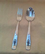 cuillere et fourchette INOX  motif enfant  marque GULDEN