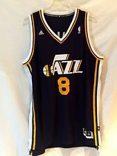 Utah Jazz jersey-NBA Adidas Deron Williams replica THROWBACK gear-2XL-Slam DUNK!