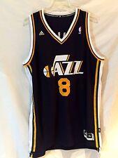 Utah Jazz jersey-NBA Adidas Deron Williams replica THROWBACK gear-2XL-Slam DUNK!