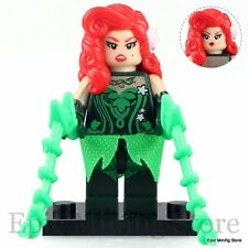 om Poison Ivy Batman Movie 2017 Minifigure fits with Lego pg102 UK Seller