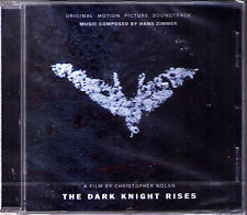 BATMAN: THE DARK KNIGHT RISES Hans Zimmer OST Soundtrack CD Christopher Nolan