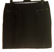 NEW M&S BLACK MINI SKIRT SIZE 18