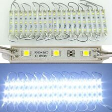 1000PCs SMD 5050 3LED Cool White LED Module light Waterproof IP65 Free Ship 12V