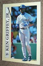 1991 Collectible Sport Art KEN GRIFFEY JR Baseball Card Notepad Mariners Reds !