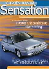 Citroen Xantia Sensation Limited Edition 1998 UK Market Sales Brochure 1.8 1.9TD