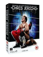 WWE Chris Jericho Breaking the Code Behind the Walls.... 3 DVDs wwf wrestling