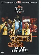 DVD - KOOL & THE GANG - LIVE from THE HOUSE OF BLUES - IN CONCERT region 2