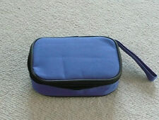 SMALL PORTABLE EMPTY CARRY CASE  TRAVEL STORAGE BAG  WATERPROOF inc Insert Pouch