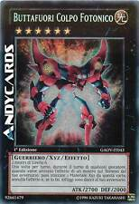 Buttafuori Colpo Fotonico ☻ Segreta ☻ GAOV IT043 ☻ YUGIOH ANDYCARDS