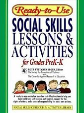 Ready-to-Use Social Skills Lessons and Activities For Grades PreK - K J-B Ed: R