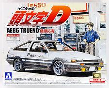 Aoshima 08966 Initial D D01 Takumi Fujiwara AE86 Trueno 1/32 scale kit