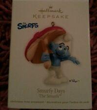 2012 Hallmark Ornament Smurfy Days The Smurfs