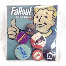 Fallout 4 Buttons Badges Pins Bethesda Officially Licensed New Set #2