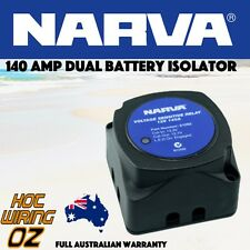 NARVA 61092BL 61092 VOLTAGE SENSITIVE RELAY 12V VSR ISOLATOR 140A DUAL BATTERY