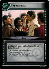 Star Trek CCG 2E Necessary Evil At What Cost? 4R40